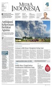 Cover Media Indonesia 20 Februari 2018