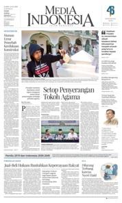 Cover Media Indonesia 22 Februari 2018