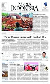 Cover Media Indonesia 24 Februari 2018