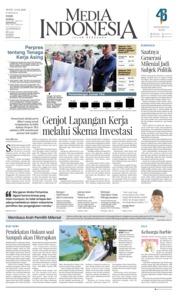 Cover Media Indonesia 23 April 2018