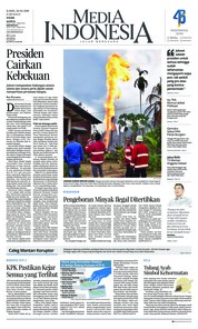 Cover Media Indonesia 26 April 2018
