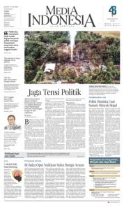 Cover Media Indonesia 27 April 2018