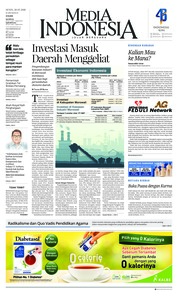 Cover Media Indonesia 28 Mei 2018