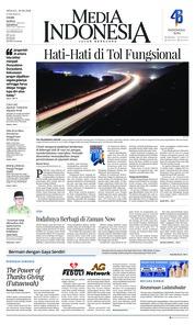Cover Media Indonesia 10 Juni 2018