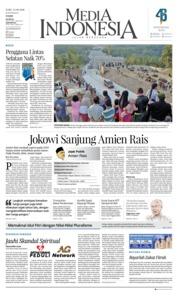 Cover Media Indonesia 13 Juni 2018