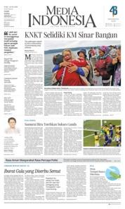 Cover Media Indonesia 20 Juni 2018