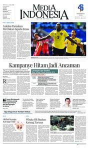 Cover Media Indonesia 24 Juni 2018