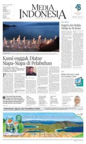 Cover Media Indonesia 25 Juni 2018