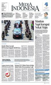 Cover Media Indonesia 19 Juli 2018