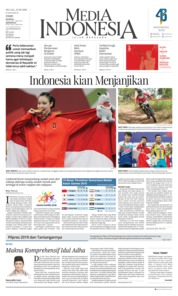 Media Indonesia Cover 21 August 2018
