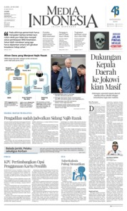 Cover Media Indonesia 20 September 2018