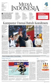 Cover Media Indonesia 24 September 2018