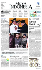 Cover Media Indonesia 26 September 2018