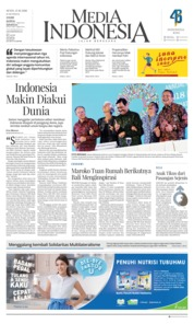 Cover Media Indonesia 15 Oktober 2018