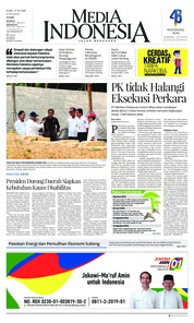 Cover Media Indonesia 17 Oktober 2018