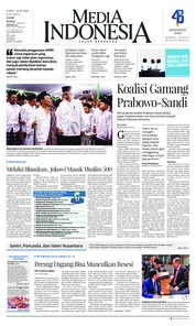 Media Indonesia Cover 20 October 2018