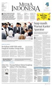 Cover Media Indonesia 22 November 2018