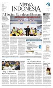 Cover Media Indonesia 02 Desember 2018