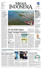 Cover Media Indonesia 03 Desember 2018