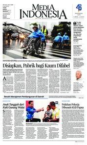 Cover Media Indonesia 04 Desember 2018