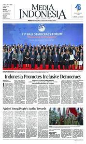 Cover Media Indonesia 07 Desember 2018