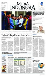 Cover Media Indonesia 08 Desember 2018