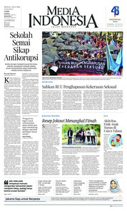Cover Media Indonesia 09 Desember 2018