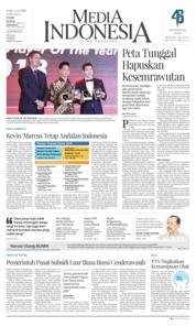 Cover Media Indonesia 12 Desember 2018
