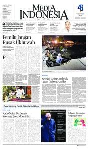 Cover Media Indonesia 19 Desember 2018