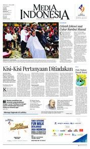 Cover Media Indonesia 20 Januari 2019