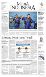 Cover Media Indonesia 22 Februari 2019