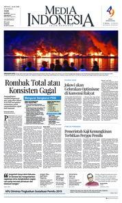 Media Indonesia Cover 24 February 2019