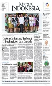 Cover Media Indonesia 12 Maret 2019