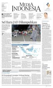 Cover Media Indonesia 14 Maret 2019