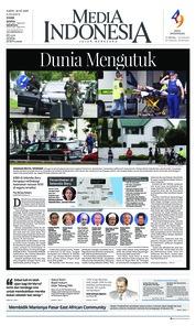 Cover Media Indonesia 16 Maret 2019