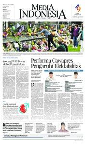 Cover Media Indonesia 17 Maret 2019