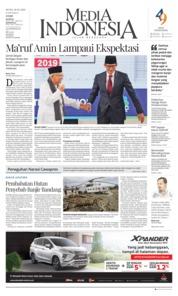 Cover Media Indonesia 18 Maret 2019