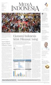 Media Indonesia Cover 12 April 2019