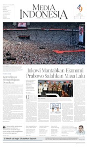 Media Indonesia Cover 14 April 2019