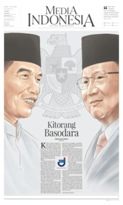Cover Media Indonesia 17 April 2019