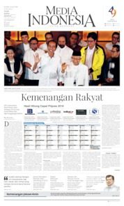 Media Indonesia Cover 18 April 2019