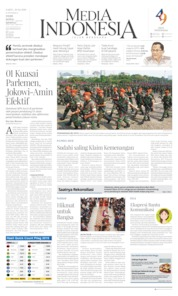 Media Indonesia Cover 20 April 2019