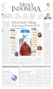 Cover Media Indonesia 24 April 2019