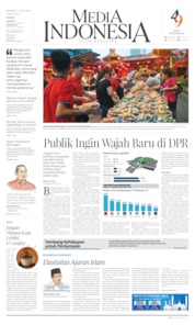 Media Indonesia Cover 12 May 2019