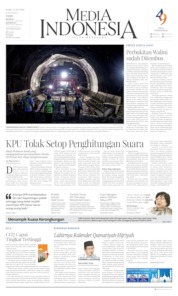 Media Indonesia Cover 15 May 2019