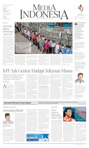 Cover Media Indonesia 20 Mei 2019