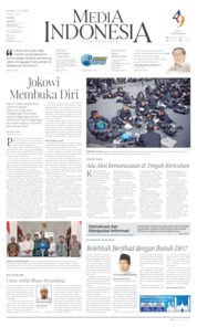 Media Indonesia Cover 23 May 2019
