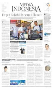 Media Indonesia Cover 28 May 2019