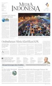 Cover Media Indonesia 10 Juni 2019