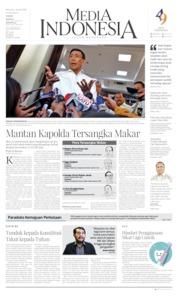 Cover Media Indonesia 11 Juni 2019